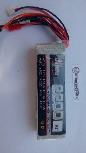 JHP2200118 - Bateria Para Rádio Lipo 2200mah 11.1v 8c