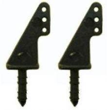 LHP-0762 - Micro Horn Em Nylon 9 X 13mm - Fixação Por Colage