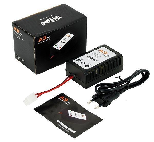471073 - Carregador IMAX A3 NiMH 2A CONECTOR TAMIYA
