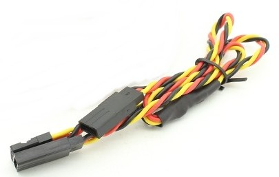 49507 - Extensão de Servo Y 30cm Twisted 24AWG (plug JR)