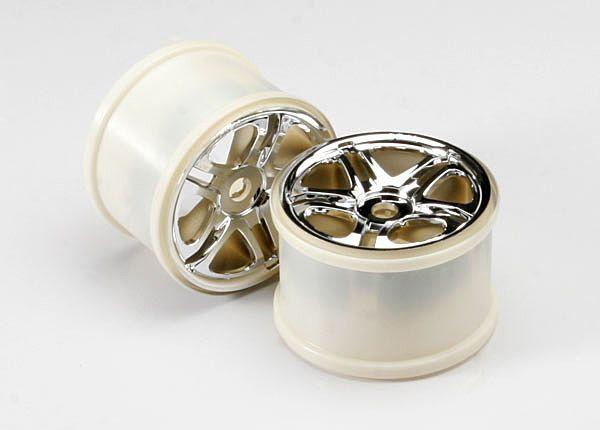 5172r -  Roda Cromada P/ Revo/e-revo/ Tmaxx 3.8 17mm