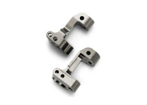 5532X -  Titanium-Anodized 6061-T6 Aluminum Castor Blocks, 30-Degree Traxxas  (pair)