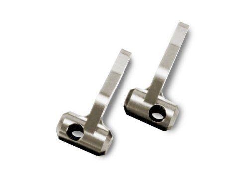 5536R - Steering Blocks Titanium-Anodized 6061-T6 Aluminum Traxxas (par)