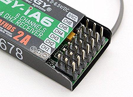 60350 - Receptor Turnigy iA6 6 canais 2.4G AFHDS 2A
