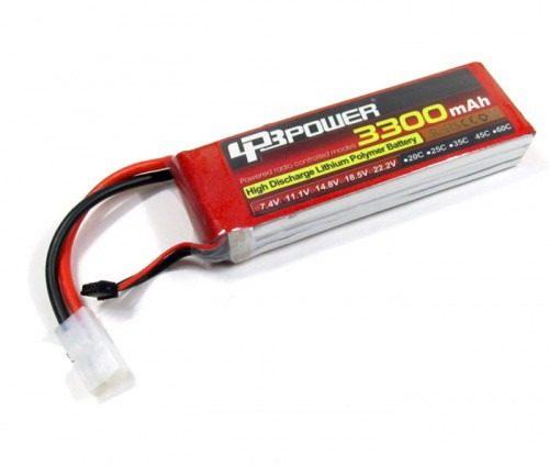 LPB7442125 - Bateria De Lipo, 3300 Mah, 7.4 Volts 35c