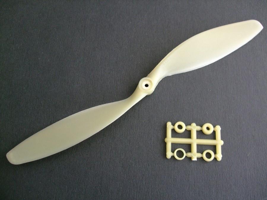 6225 - Hélice Slowfly 8x3.8 Bone (CCW)