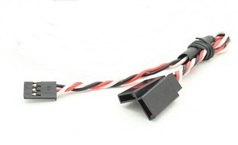 49504 - Extensão Y 30cm Twisted Servo 24awg (plug Futaba)