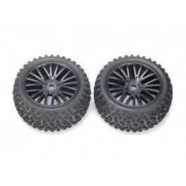 8131-010 - 347122 Rear Tires Mounted