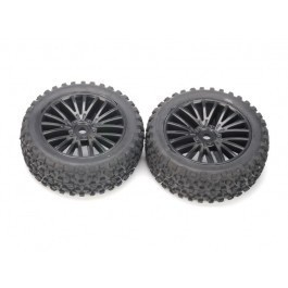 8131-013 - 347126 Tires - 8133 & 1 Front 1/10th