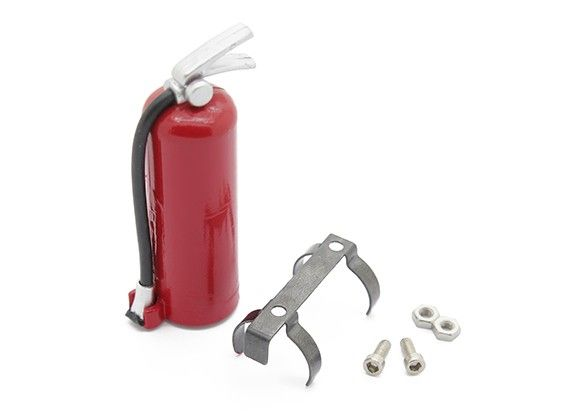 98206 - Extintor de Fogo com Suporte para escala 1/10 Crawler