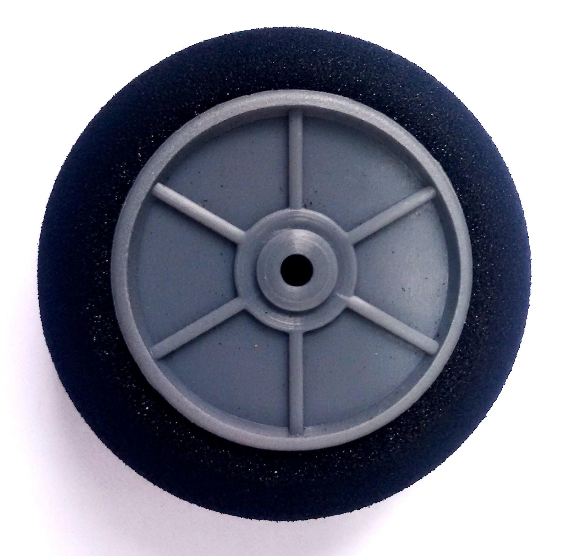 9860 - Roda Light Foam (Diâmetro: 50mm, Largura: 18.5mm)