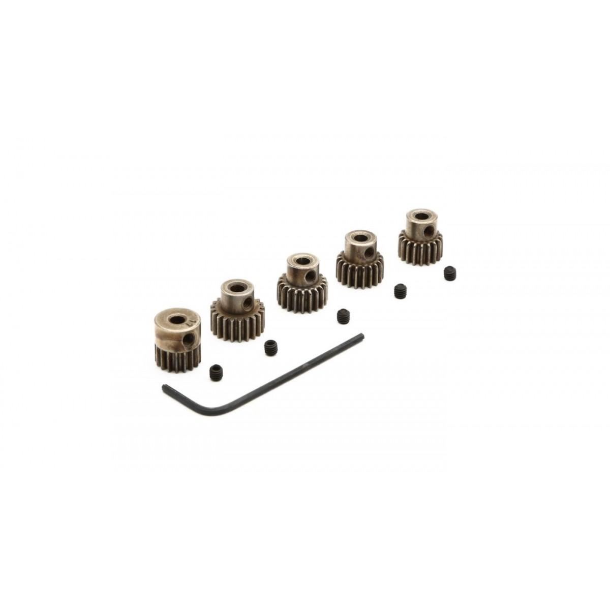DYNG4810 - 48P Pinion Gear Set: 17T, 18T, 19T, 20T, 21T (3.17mm)