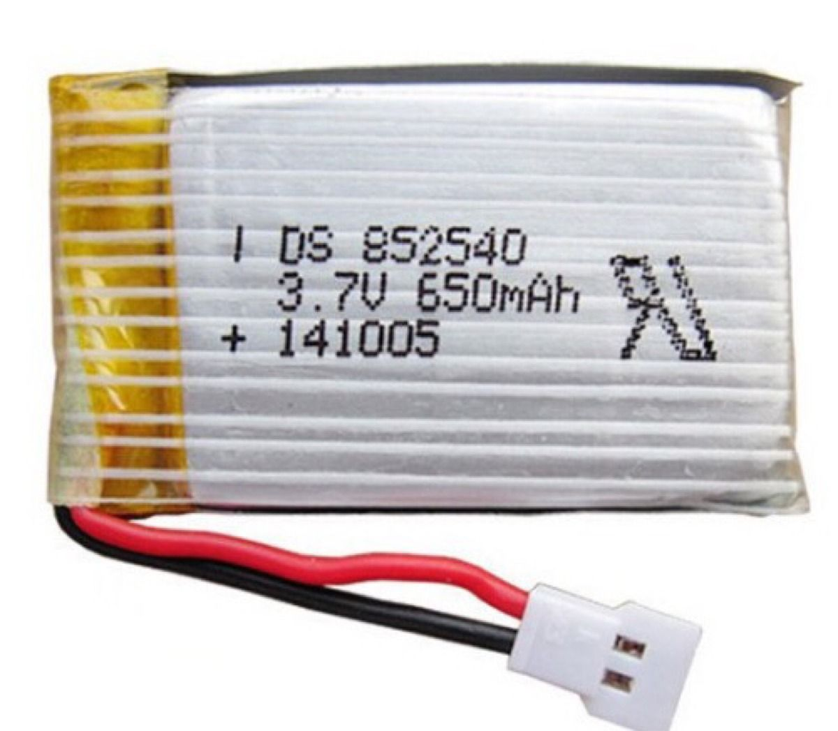 FUL650115 - Bateria Fullymax Hubsan / Syma 650mAh 1S 3.7v 15C