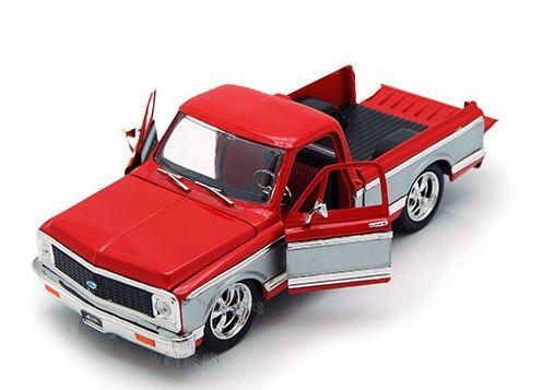 JAD96865 - Chevrolet Cheyenne 1972 Vermelho 1/24 Jada Toys