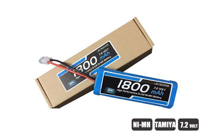 LB1800NI6 - Bateria NIMH - 7.2V - 1800mAh - TAMIYA