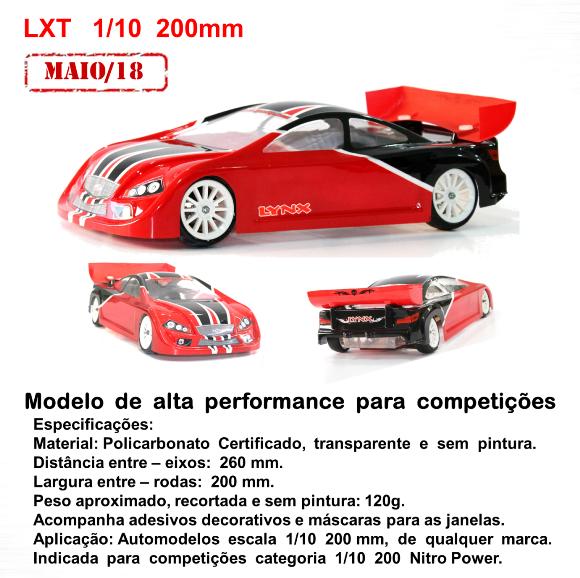 LHP-1024 - Bolha LXT 1/10 200mm