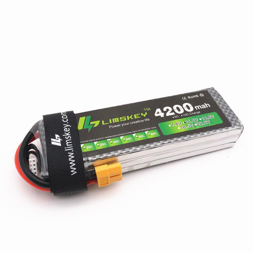 LIM42003S30 - Bateria 11,1v 3S 4200mah Lipo 30C