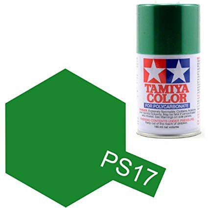 PS-17 - Tinta Spray Metálico Green Tamiya - 100ml