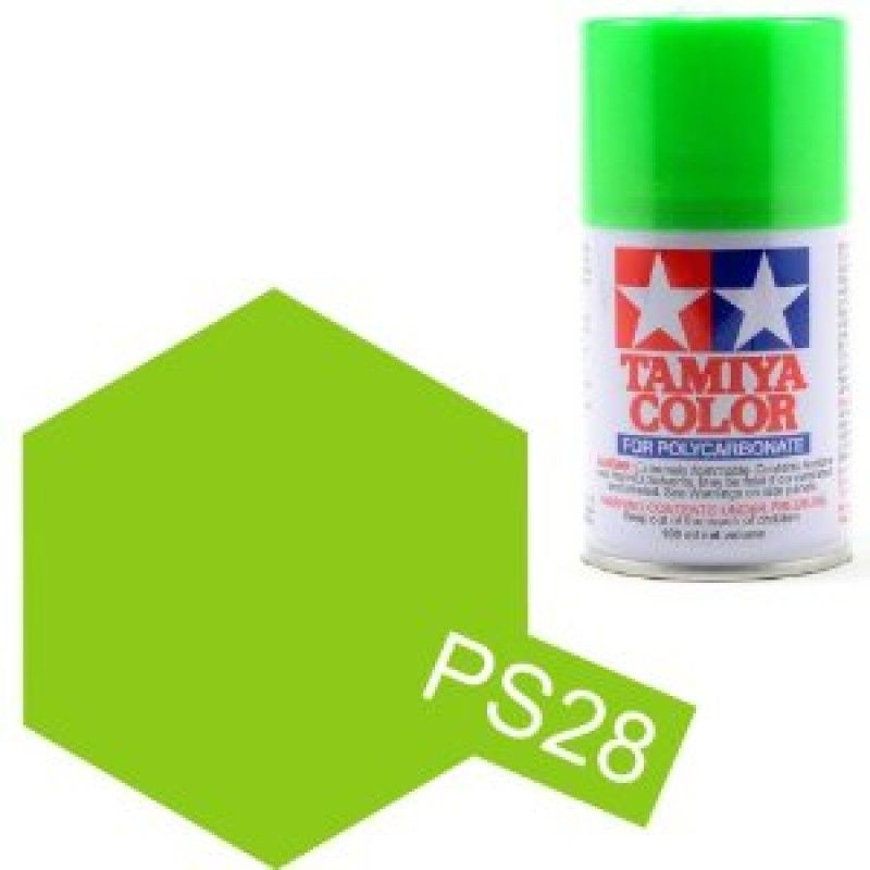PS-28 - Tinta Spray Fluorescent Green Tamiya - 100ml