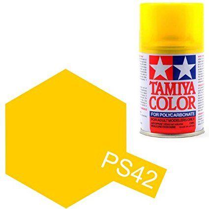 PS-42 - Tinta Spray Translucent Yellow Tamiya - 100ml