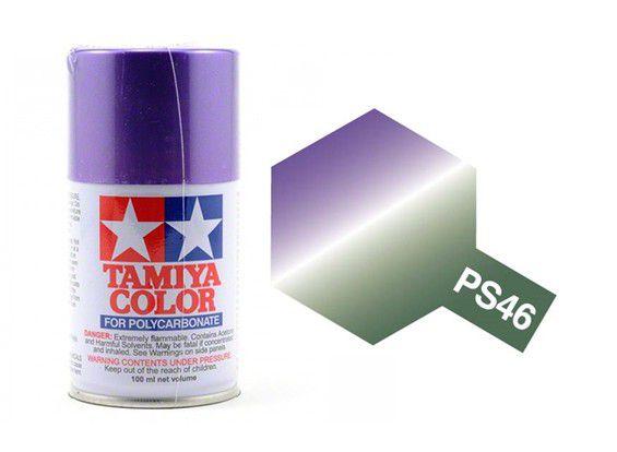 PS-46 - Tinta Spray Iridescent Purple/Green Tamiya - 100ml