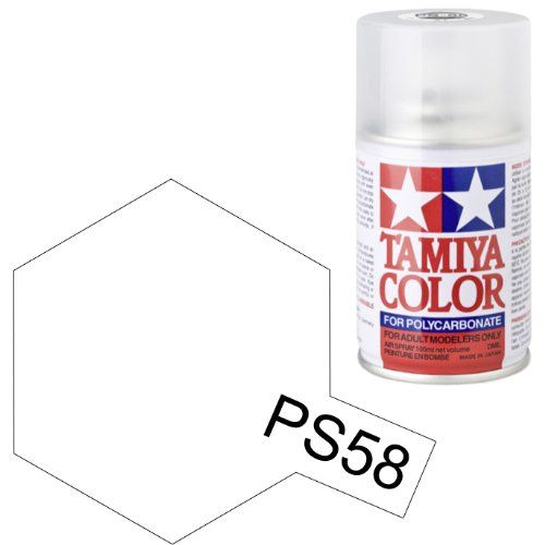 PS-58 - Tinta Spray Pearl Clear Tamiya - 100ml