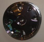R-08 - Roda Diplomata 92 Cromada 1/10 escala (4und)