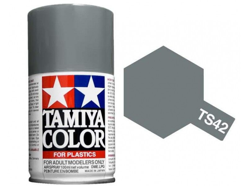 TS-42 - Tinta Spray Light Gun Metal Tamiya - 100ml