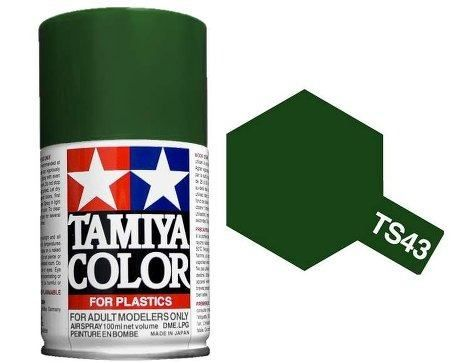 TS-43 - Tinta Spray Racing Green Tamiya - 100ml