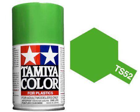 TS-52 - Tinta Spray Candy Lime Green Tamiya - 100ml