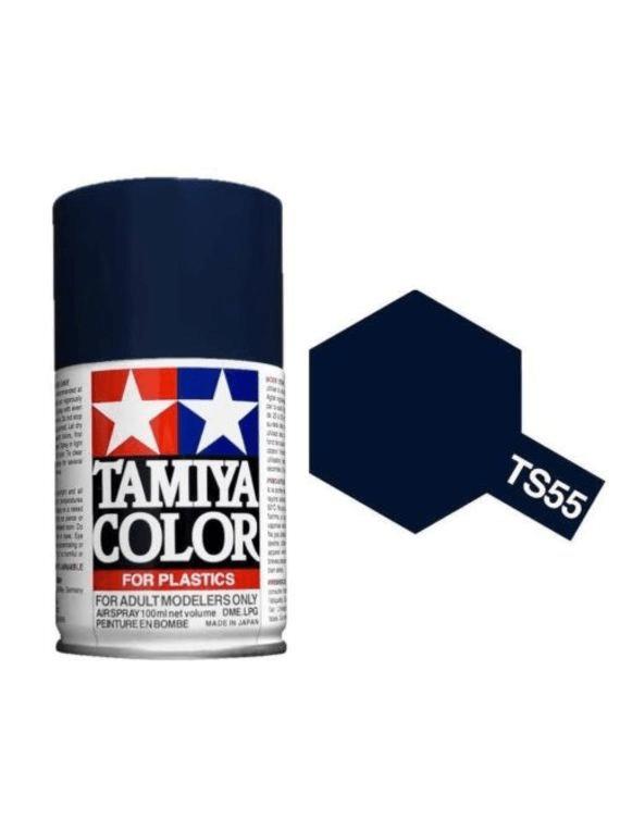 TS-55 - Tinta Spray Dark Blue Tamiya - 100ml