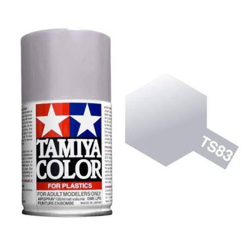 TS-83 - Tinta Spray Metálico Silver Tamiya - 100ml