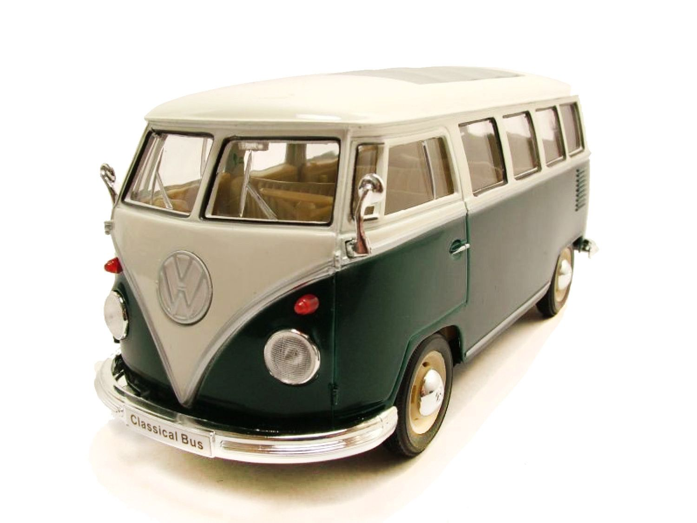 WEL22095W - Volkswagen Kombi T1 1963 1/24 Verde