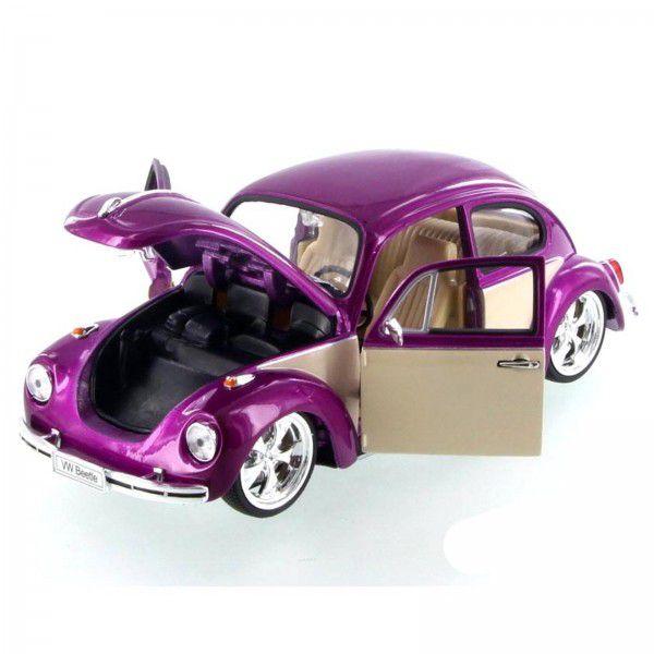 WEL22436LR-W - Volkswagen Fusca Low Rider Hot Rider 1/24 Welly