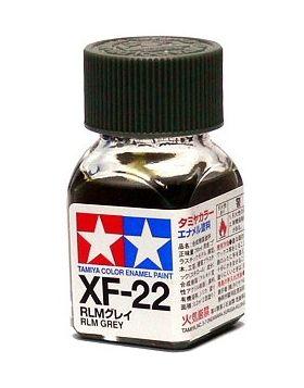 XF-22 - Tinta Emanel Mini RLM Grey Tamiya - 10ml