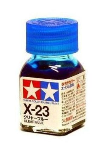 X-23 - Tinta Emanel Mini Clear Blue Tamiya - 10ml