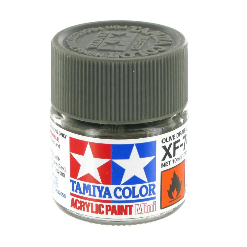 XF-27 - Tinta Emanel Mini Black Green Tamiya - 10ml