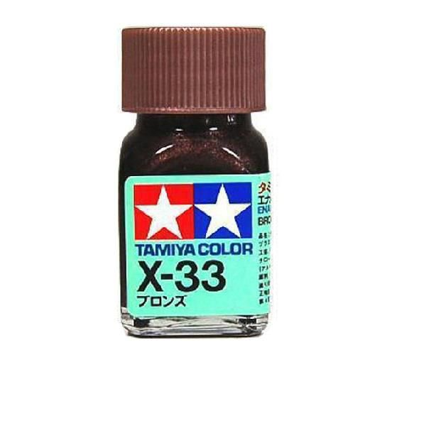 X-33 - Tinta Emanel Mini Bronze Tamiya - 10ml