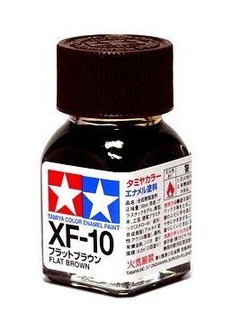 XF-10 - Tinta Emanel Mini Flat Brown Tamiya - 10ml