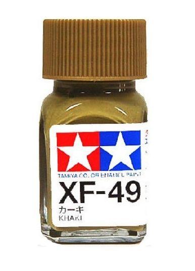 XF-49 - Tinta Emanel Mini Khaki Tamiya - 10ml