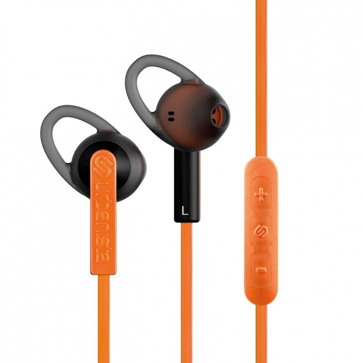 Fone de ouvido Bluetooth Boston Laranja