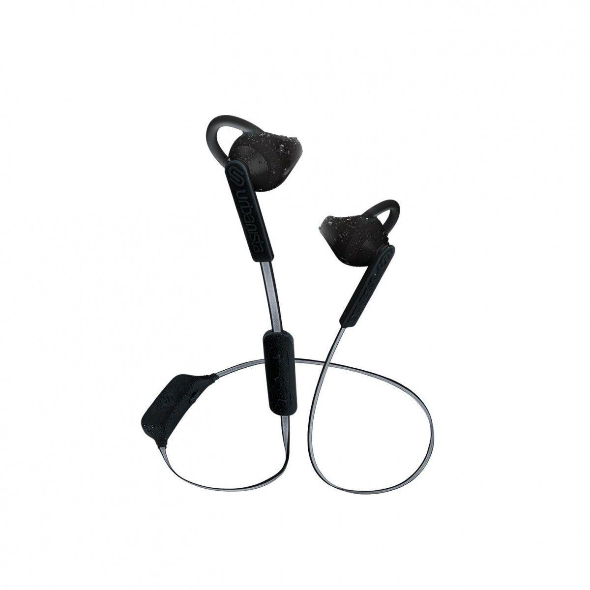 Fone de ouvido Bluetooth Boston Preto Refletivo - Urbanista