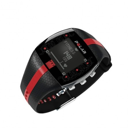 MONITOR CARDIACO POLAR FT7M BLK/RED