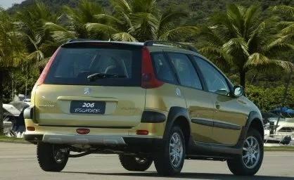 Vidro Vigia Peugeot 206 Sw Novo
