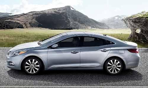 Vidro De Porta Traseira Hyundai Azera 2013 Original