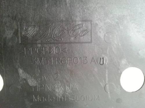 Protetor Inferior Do Motor Ford Focus 2004~7 3m51r6p013a