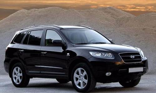 Vidro Porta Dianteira Direita Hyundai Santa Fe 05/12
