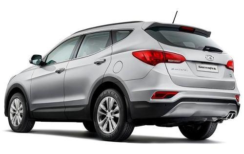 Vidro Porta Traseira Esquerda Hyundai Santa Fe 2013/...