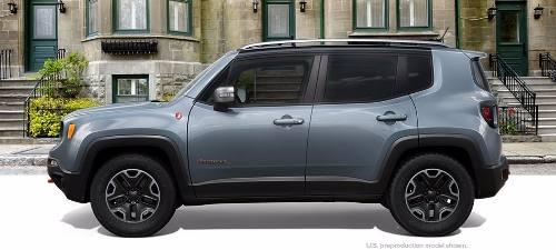 Vidro De Porta Traseira Esquerda Jeep Renegade Original