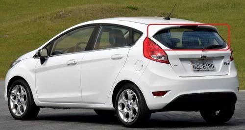 Vidro New Fiesta 09-17 Vigia Térmico Orig Ford-tampa Traseira